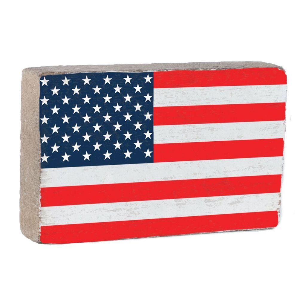 50 Stars Flag XL Block