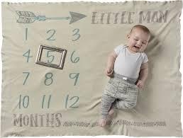Blanket Little Man Milestone Blanket