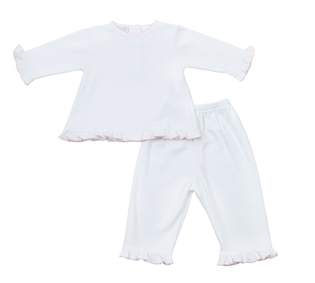 Essentials Ruffle 2pc Pant Set