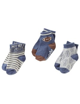 All Boy Sock Set - 3 Pair Set