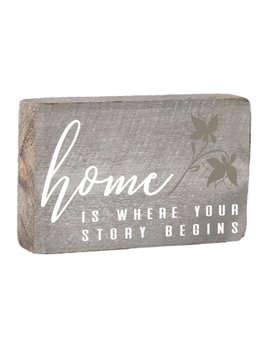 Where Your Story Begins XL Block