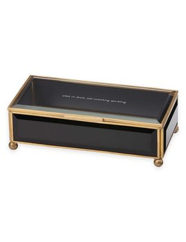 Jewelry Box Kate Spade New York Out of the Box Black Jewelry Box by Lenox