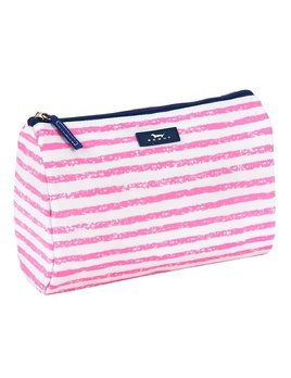 Cosmetic Bag Packin' Heat by Scout, Pillow Chalk