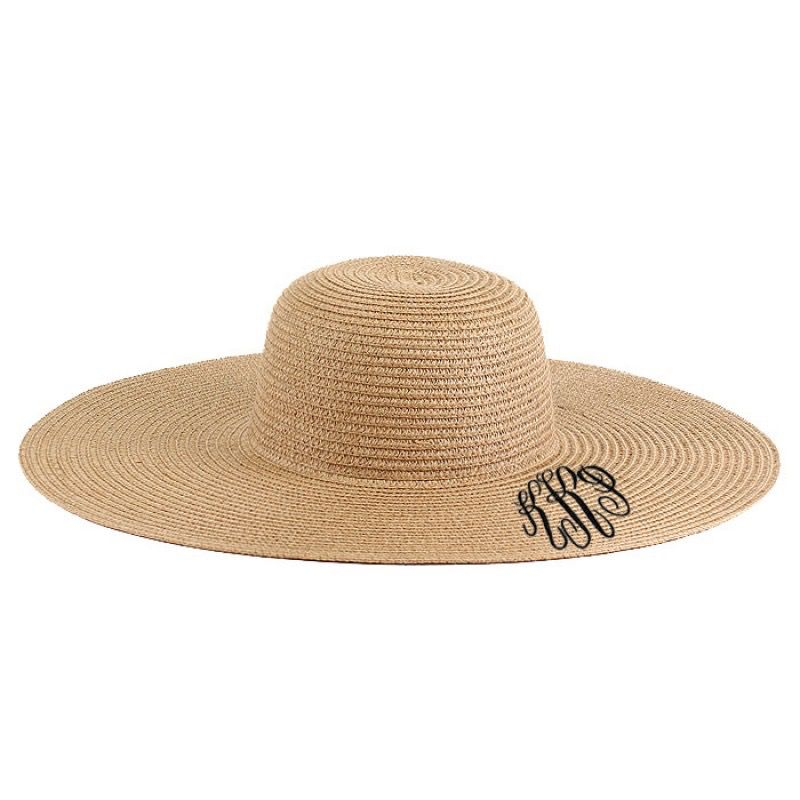Hat Monnogrammed Floppy Sun Hat