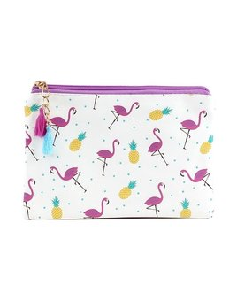 Cosmetic Bag Flamingo Pattern Cosmetic Bag