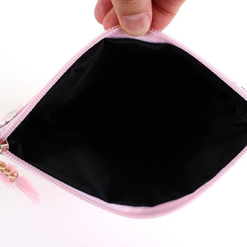 Cosmetic Bag Flamingo Pattern Cosmetic Bag