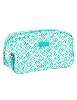 Cosmetic Bag 3 Way Bag by Scout, Aqua Fresca