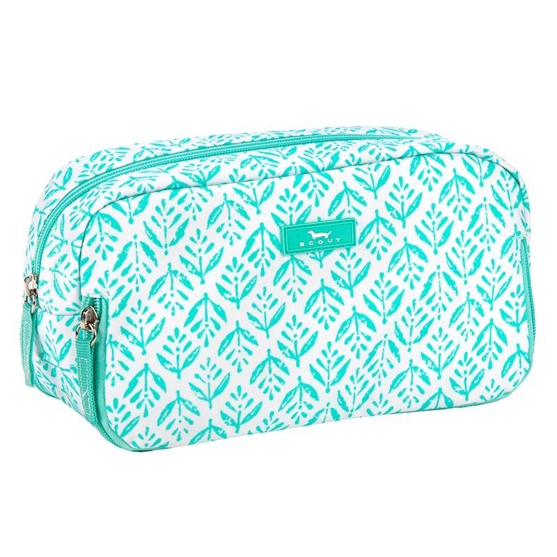 Cosmetic Bag 3 Way Bag by Scout, Aqua Fresca