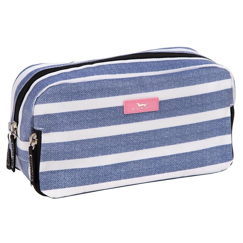 Cosmetic Bag 3 Way Bag by Scout, Oxford Blues