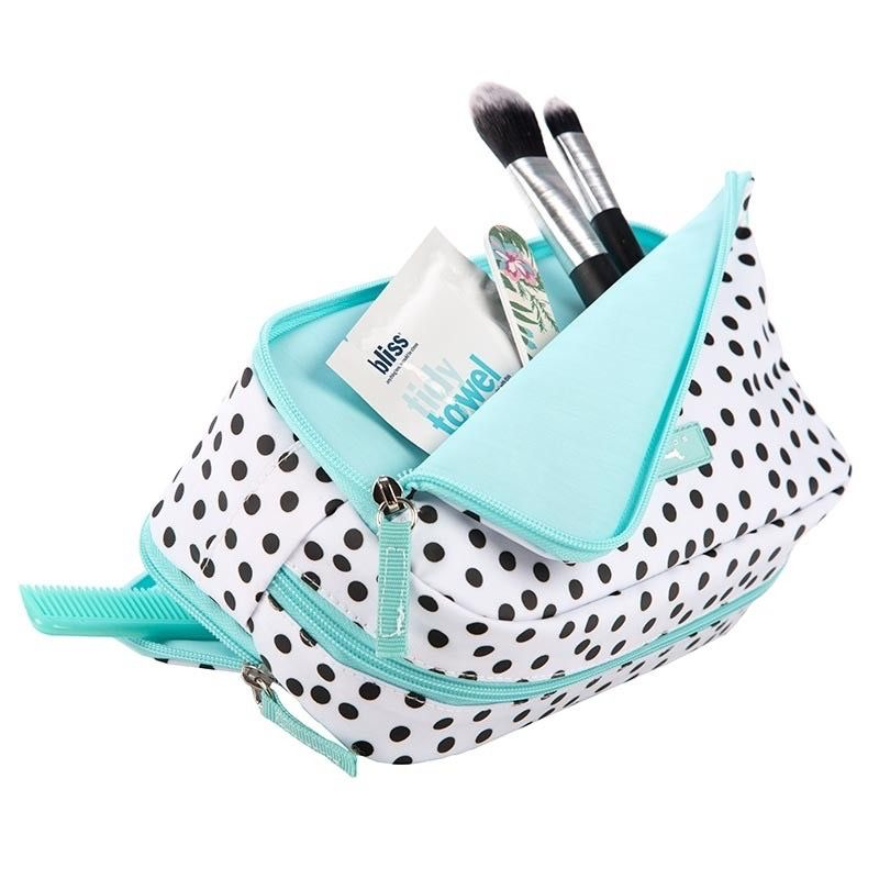 Cosmetic Bag 3 Way Bag by Scout, Hello, Dotty