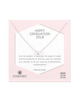 Necklace Happy Graduation 2018 Pearl Necklace