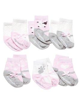 Cutie Pinks Socks - Set of 6