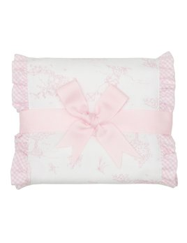 Burp Cloth Pink Kite Fancy Burp Cloth