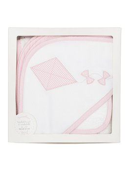 Towel Pink Kite Hooded Towel & Washcloth Set