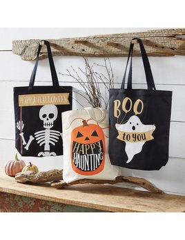 Tote Canvas Halloween Treat Tote