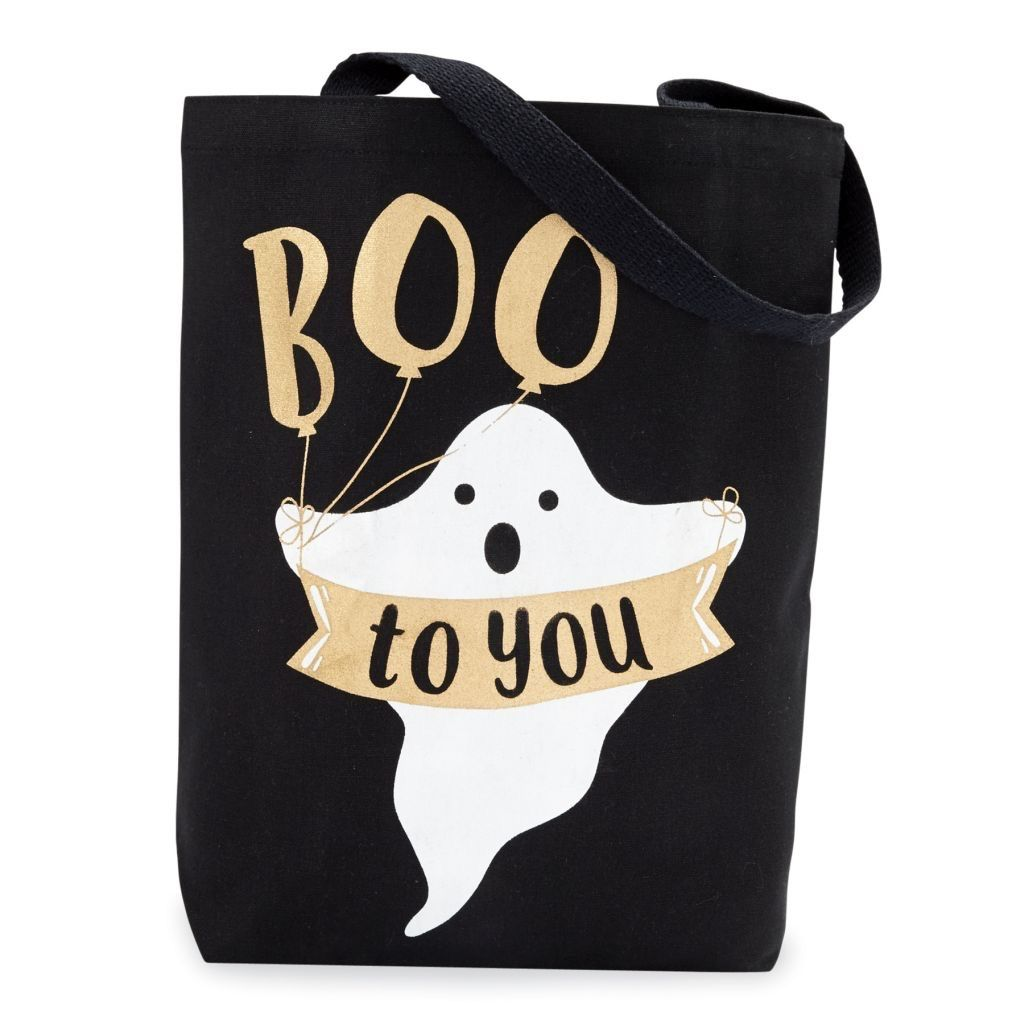 Tote Canvas Halloween Treat Tote