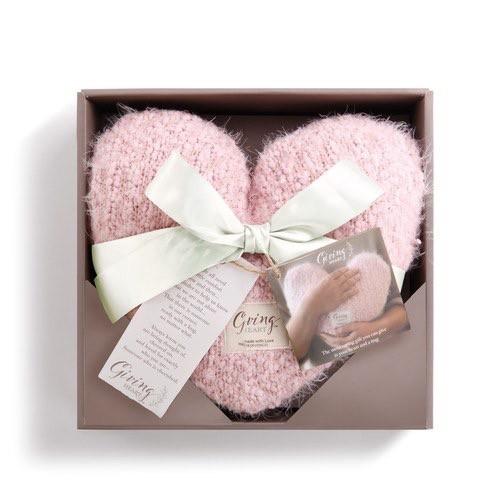 Pillow Pink Giving Heart