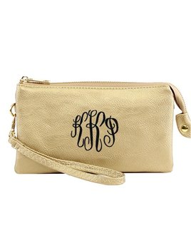 Clutch Monogrammed Cluth/Crossbody Bag