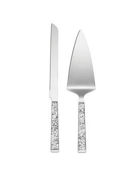 Kate Spade New York Simply Psarkling Silver Dessert Set by Lenox