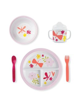Kids Kate Spade Baby Girl Melamine Dining Set