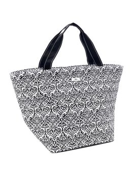 Tote The Quilted Weekender by Scout, Black Knight