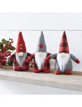 Decoration Small Checked Gnome
