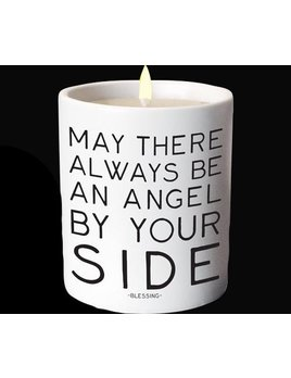 candle Angel By Your SIde - Quotable Candle