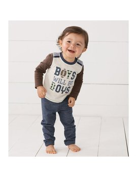 Outift Boys Will Be Boys Two-Piece Set