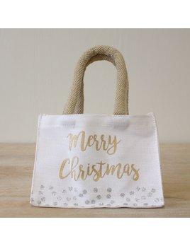 Tote Merry Christmas Petite Gift Tote