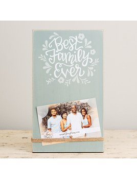 Frame Best Family Ever Twine Frame