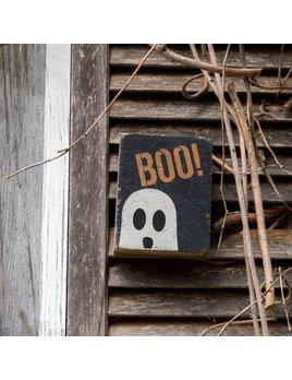Black Tumbling Block, Boo! Ghost