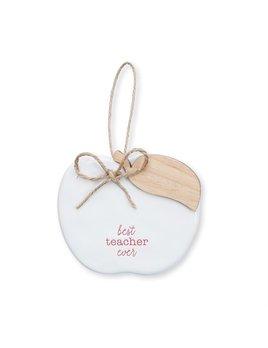 Ornament Best Teacher Ceramic Ornament