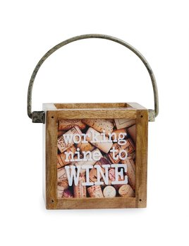 Nine To WIne Mini Cork Box