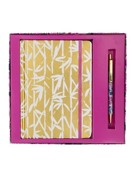 JOURNAL Lilly Pulitzer Journal With Pen, Bamboo Bash
