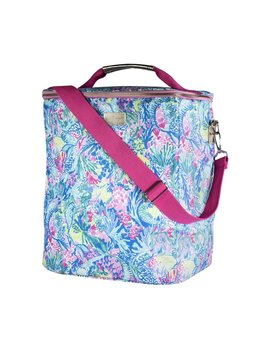 Wine Cooler Lilly Pulitzer Wine Carrier, Mermaids Cove