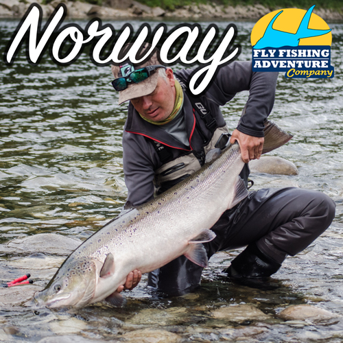 Fly Fish Norway with Fly Fishing Adventure Company