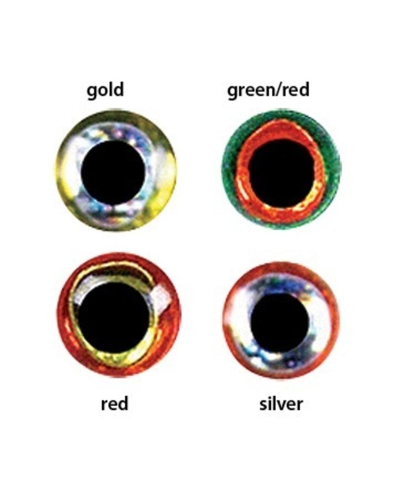 Orvis Jurassic Eyes Gold/Red 6mm