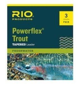 Rio Powerflex Trout Leaders3 pk