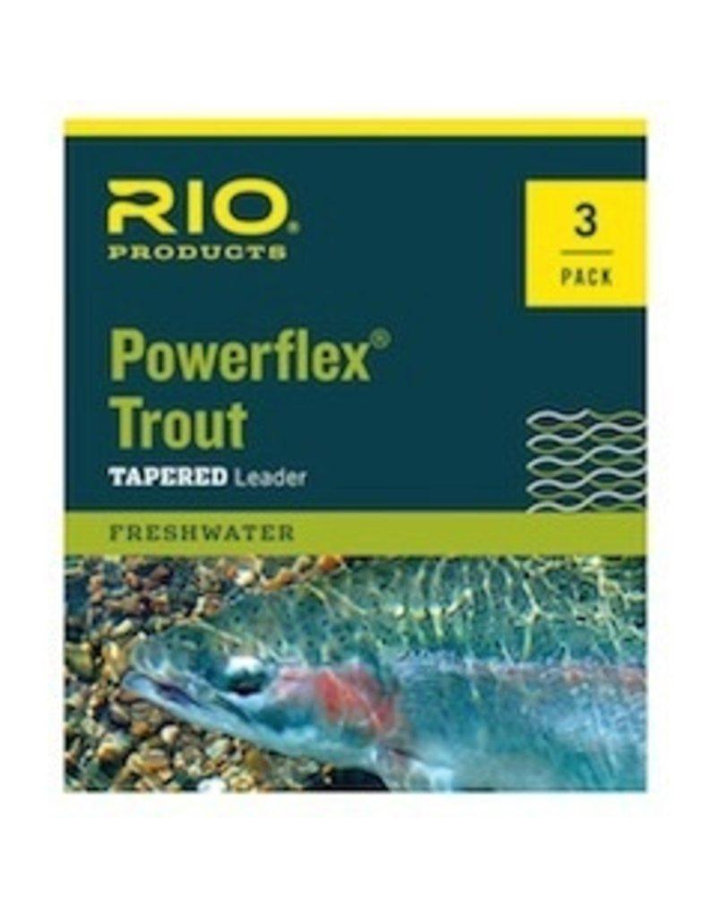 Rio Powerflex Trout Leaders<br />3 pk