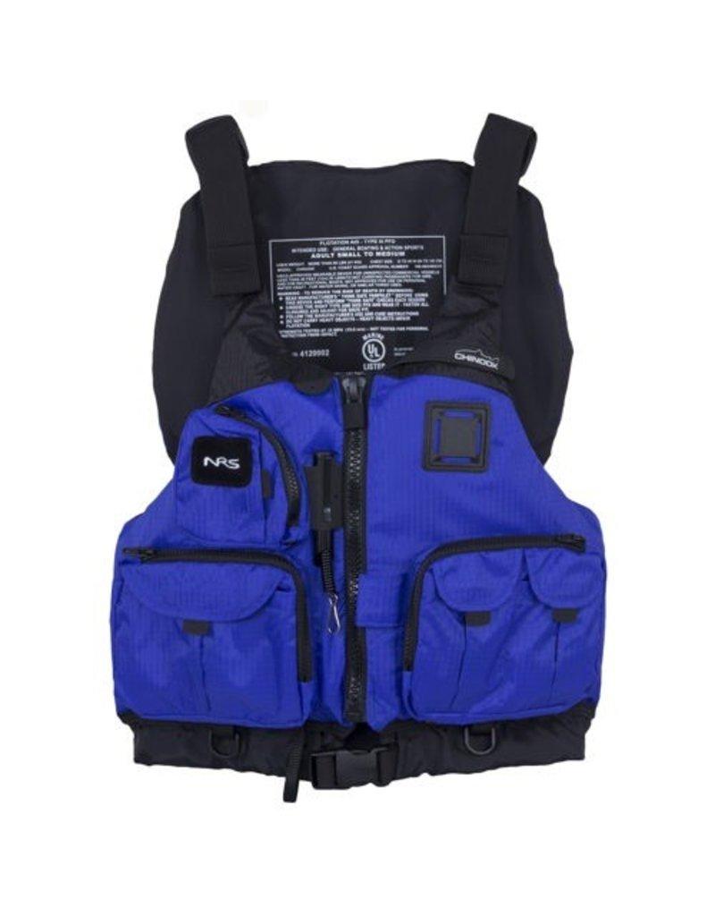 NRS Chinook PFD S/M Blue