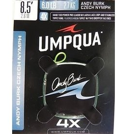 Umpqua Andy Burk Czech Nymph Leader 4X