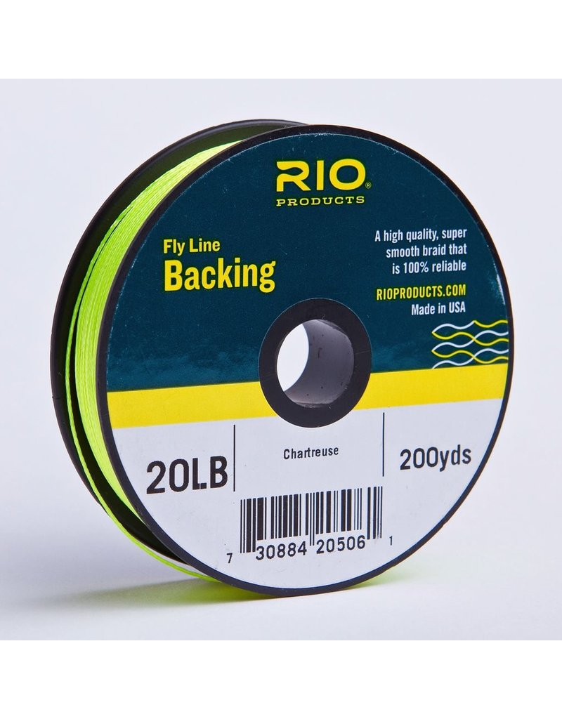 Rio Fly Line Backing 20 lb 200yds