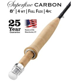 Orvis Superfine Carbon 8ft 4wt Flyrod