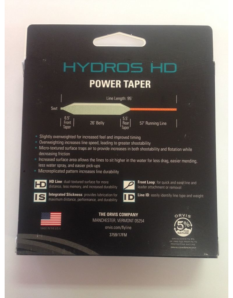 Orvis Hydros HD Powertaper Fly Line