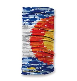 Rep Your Water Colorado Fish Mosaic Sun Shield