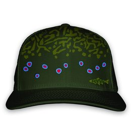 Rep Your Water Brook Trout Skin Hat