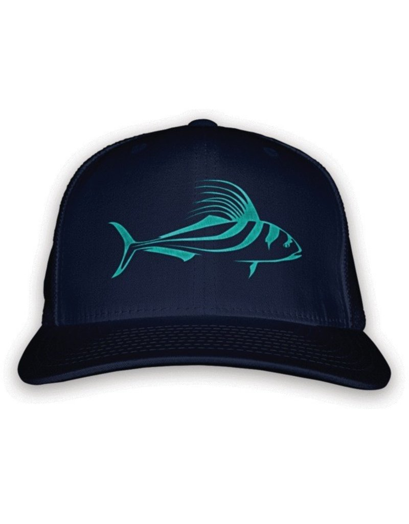 Rep Your Water Roosterfish Trucker