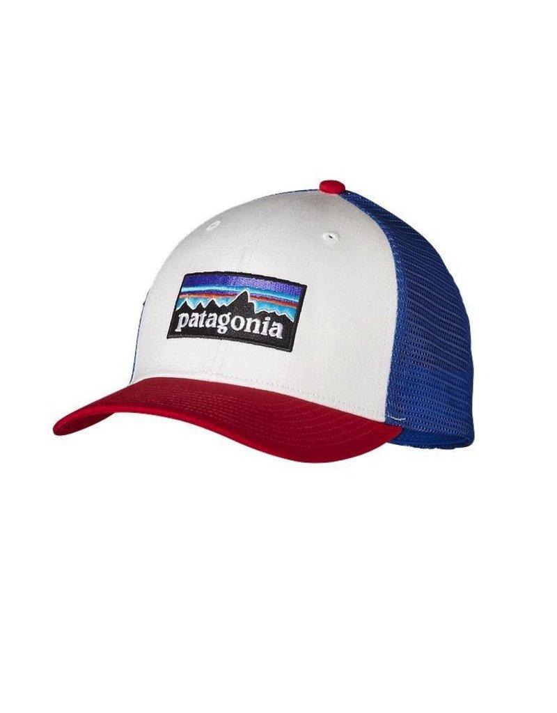 Patagonia P6 Trucker Hat White