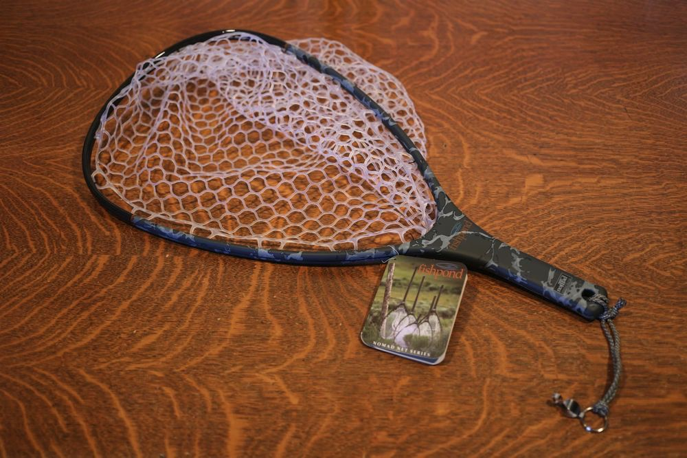 Fishpond Nomad Hand Net Riffle Camo Royal Gorge Anglers