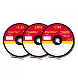 Rio Powerflex Tippet 3 Pack..<br /> 4X-6X